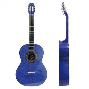Guitarra Clasica Srpinkled Azul