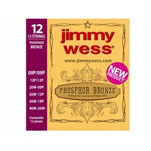ENC. JIMMY WESS BRONCE 12 CUERDAS JWGA 1012BF