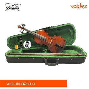 Violin 4/4 Amadeus Natural Brillo
