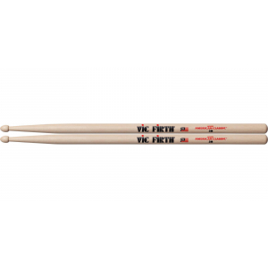 BAQUETAS VIC FIRTH NATURAL P/MADERA MOD. 2B RAVIC2B