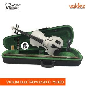 Violin 4/4/ Electroacústico Amadeus Cellini PS900 Blanco