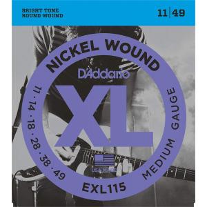 ENC. DADDARIO XL 11-49 MOD. RADADEXL115