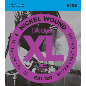 ENC. DADDARIO XL 09-42 MOD. RADADEXL120
