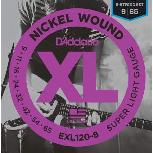 ENC. DADDARIO XL EXL120-8