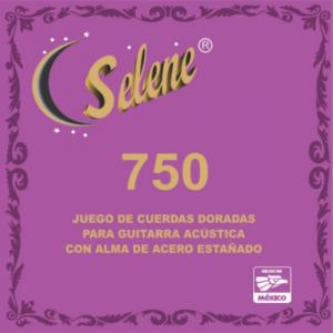 ENC. SELENE ACERO DORADO 750