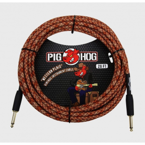 CABLE PLUG A PLUG 6 MTS TEJIDO PIG HOG PCH20CP