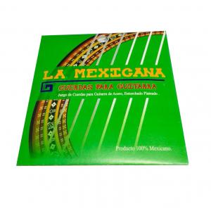 ENC. LA MEXICANA ACERO PLATEADO (CAJA VERDE)