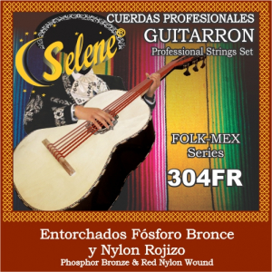 ENC. GUITARRON FOSFORO BRONCE SELENE 304FR