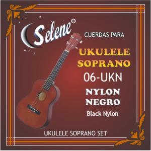 ENC UKULELE SELENE NYLON NEGRO  06-UKN