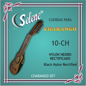 ENC. CHARANGO SELENE 10-CH NYLON NEGRO
