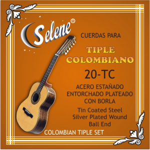ENC. TRIPLE COLOMBIANO 20-TC ACERO ENTORCHADO PLATEADO