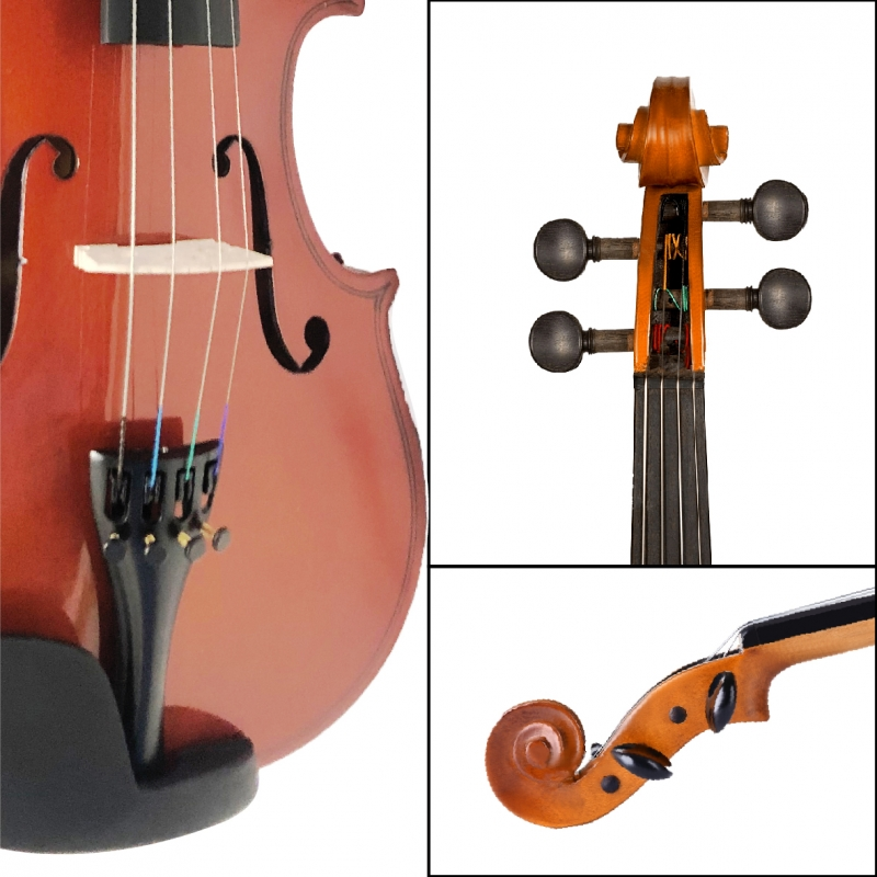 VIOLIN 4/4 EQUIPADO DIVARIUS NATURAL RC