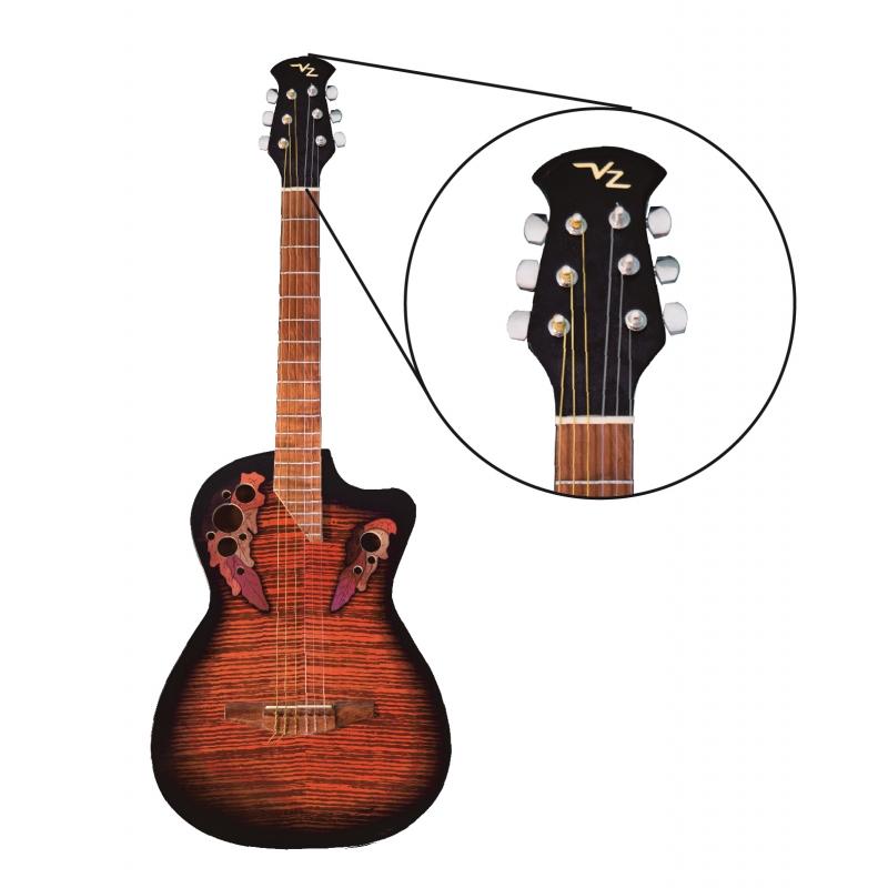 Guitarra acustica Vz Richard Sam